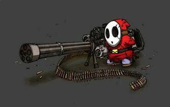 Download the Overkill Gatling Gun Wallpaper Overkill