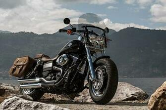 Download Harley Davidson Fxdf Dyna Fat Bob HD Wallpaper