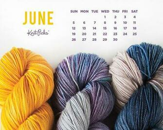 June 2016 Calendar   KnitPicks Staff Knitting Blog