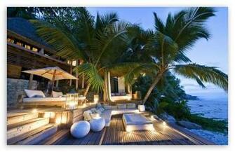 Tropical Beach Resort HD wallpaper for Standard 43 54 Fullscreen