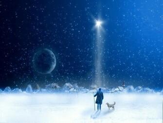 1024x768 CHRISTMAS NIGHT Wallpaper Download