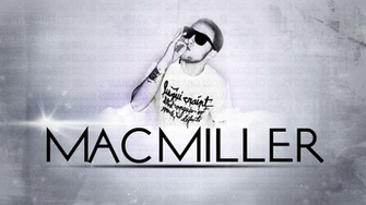 Download Mac Miller Name 3 background for your phone iPhone android