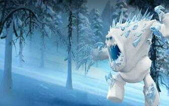 Frozen Monster Wallpaper HD Background