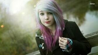 Beautiful Cute Emo Girl HD Wallpaper   Stylish HD Wallpapers