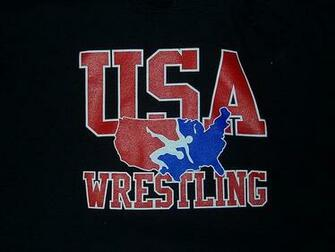 USA wrestling Logo on sweatshirt only worn 3 times By