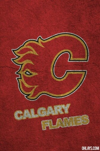 Calgary Flames iPhone Wallpaper 398 ohLays