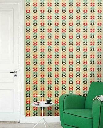 Removable self adhesive colourful vinyl Wallpaper wall sticker   Cute
