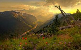Beautiful Mountain Scenery wallpaper   481912