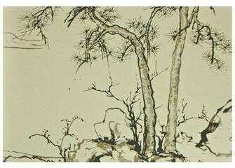 Chinese Style Hand Made Master Piece Yulan Wallpaper View Yulan