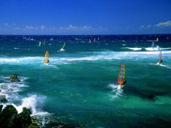 Windsurfers   Maui   Surfing Wallpaper 23340150
