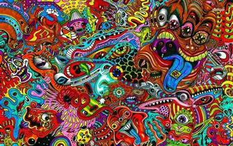 Psychedelic wallpaper   Artistic wallpapers   15999