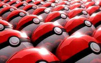 Multiple Pokeballs Wallpaper   Nexus Wallpaper