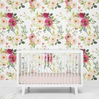Franny s farmhouse floral removable wallpaper Artofit