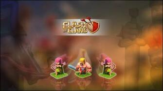 Clash of Clans Archer Barbarian Wallpaper
