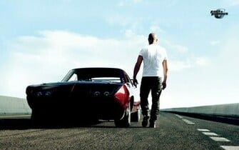 Vin Diesel Muscle Car Fast and Furious 6 HD Wallpaper 4371