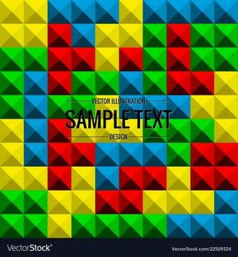 Tetris game background seamless pattern Royalty Vector