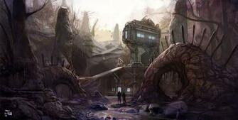 Halo 4 Abandon Concept Art
