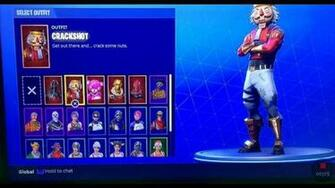 Fortnite BattleRoyale Account Recon Expert and Skull Trooper