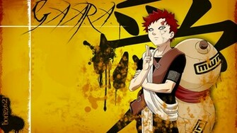 Manga Gaara Kazekage Suna Wallpaper Anime   desktop wallpapers