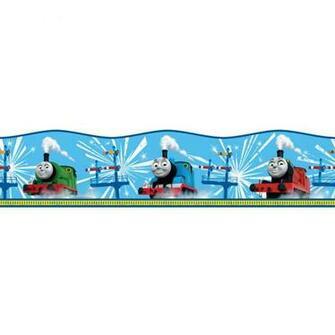 wallpaper bordersstickersthomas the tank engine borderinvt0349764