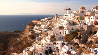 Oia Windmills wallpaper Gallery