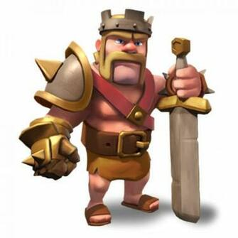 Clash Of Clans Barbarian King And Archer Queen Clash of clans wiki