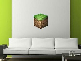 Minecraft Bedroom Ideas In Real Life Minecraft grass block wall
