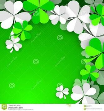 Irish Clover Background Irish shamrock