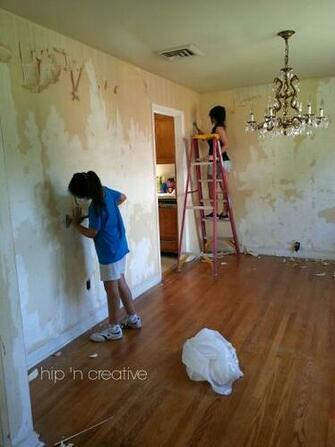 wallpaper removal Hip N Creative