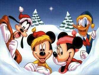 Classic Disney Mickeys Christmas Wallpaper