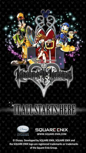 wallpapers   News   Kingdom Hearts Insider iPhone5 Wallpaper