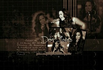 Demi Lovato Desktop wallpaper by evinegrace