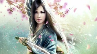 Anime Girl Samurai 6080 Wallpaper Wallpaper hd