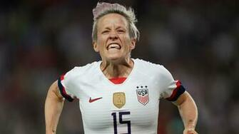 France 1 2 USWNT With firestorm around her Rapinoe delivers on