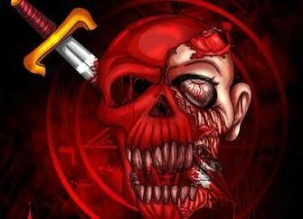 Dark   Occult Weapon Skull Satan Satanism Satanic Skulls Wallpaper