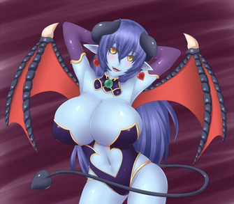 Pin Women Succubus Demon Girl Devil Wallpaper 30043