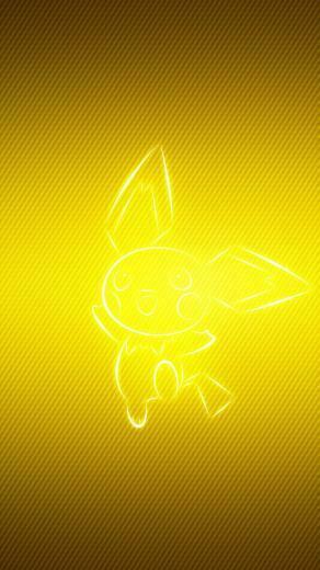 Download wallpaper 800x1420 pokemon yellow pichu iphone se5s5c