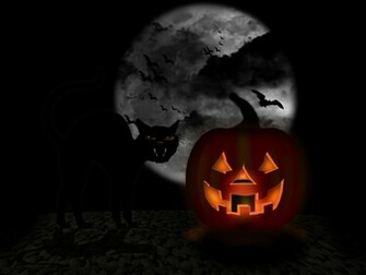 Animated Halloween Wallpaper 3 D
