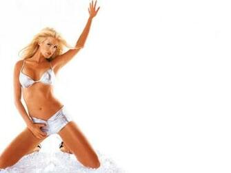 New Extrem Wallpapers Victoria Silvstedt Wallpaper Sexy Bikini