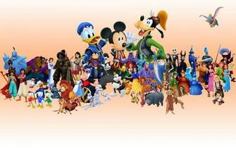 Walt Disney Characters Pictures HD Wallpaper of Cartoon
