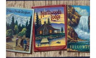 Home Northwood Lodge Wallpaper Border