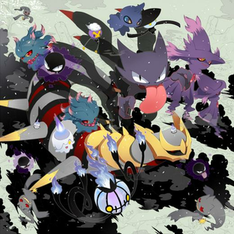 Ghost Type Pokemon Wallpaper Ghost types giratina