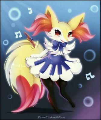 Piano Braixen by Midna01