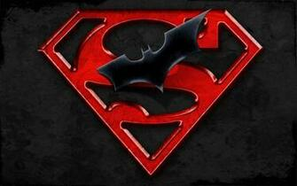 Superman Batman Logo HD Wallpaper 1080x675 Superman Batman Logo