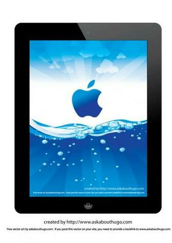 iPad 2 wallpaper with vector file AskAboutHugo   Tips on how to