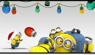 christmas wallpaper minion TheFunnyPlace