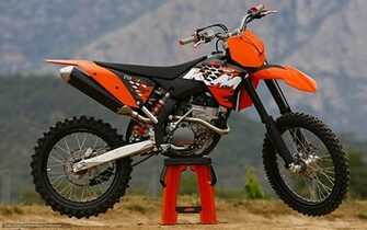 Download wallpaper KTM Motocross SX 250 SX F 250 SX F 2008