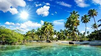 Pics Photos   Tropical Beach S Hd Wallpapers