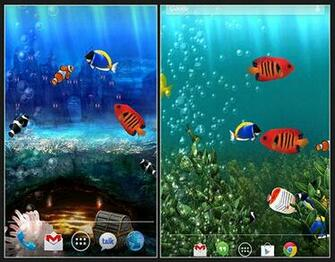 Download Aquarium Live Wallpaper App