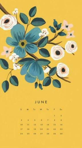 June 2018 iPhone Calendar Wallpapers Calendar 2018 Calendar